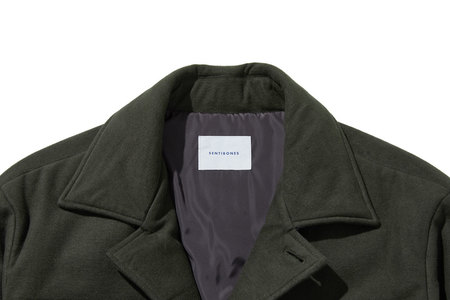 Sentibones Padded Field Jacket - Khaki