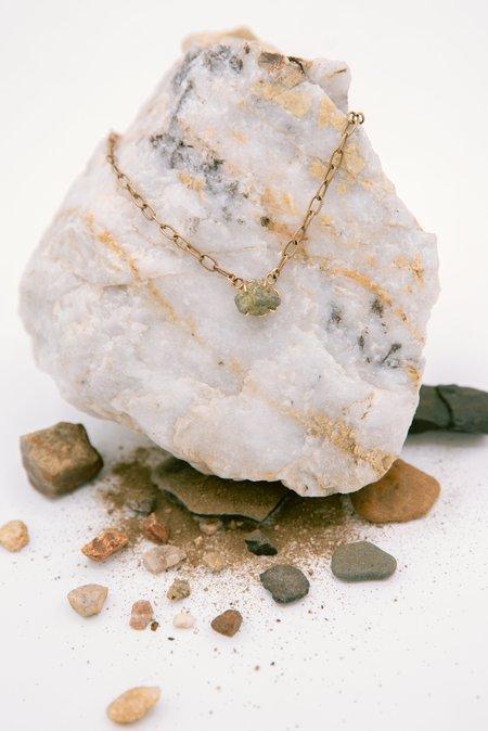 Jess Meany Stone 1 Necklace - 14k gold-filled
