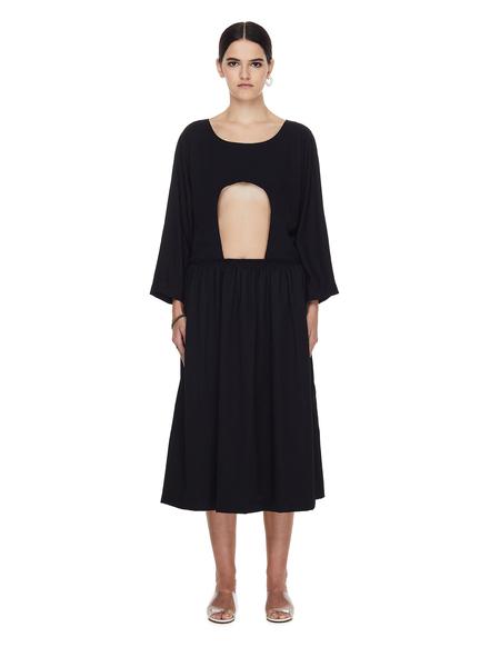 Comme des Garcons CdG Cut Out Dress - Black