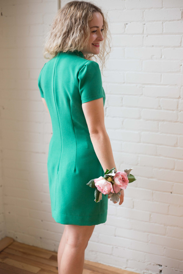 Birds of North America Apalis Dress (Green)