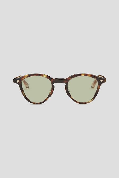 Lunetterie Générale Dolce Vita Sunglasses - Tortoise/Green