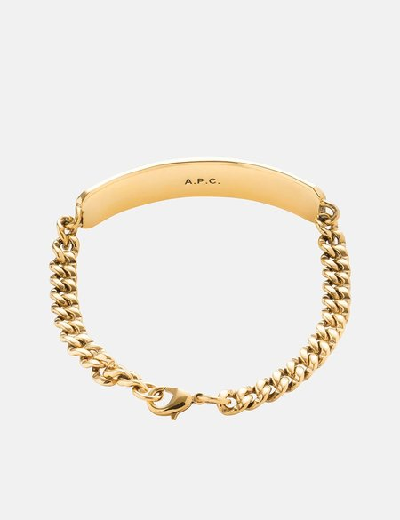 A.P.C. Darwin Curb Chain - Gold