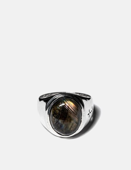 Maple Tommy Signet Ring - Silver 925