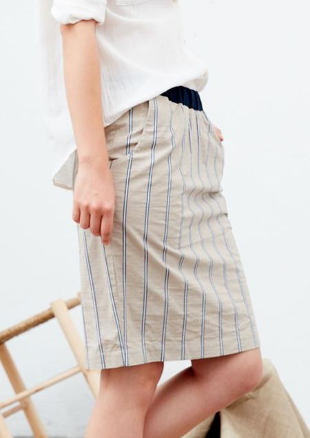 Tinsels Mado Skirt - Beige