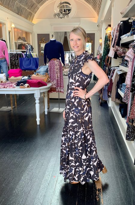 Odense Floral Pacific Maxi Dress - Odense