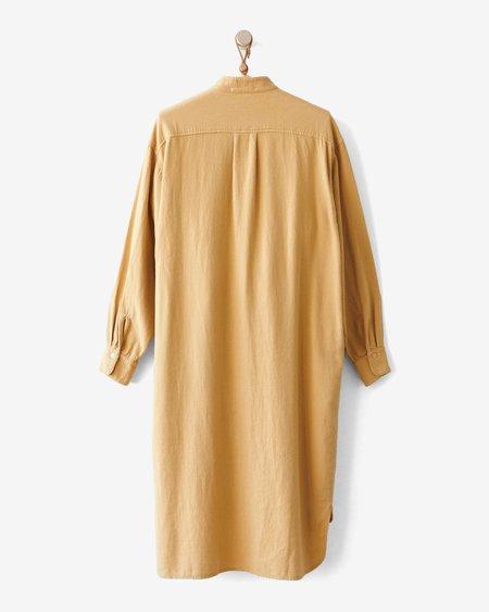 Black Crane Meca Dress - Tan