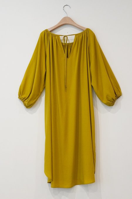 a mente Peasant Dress - D.Green