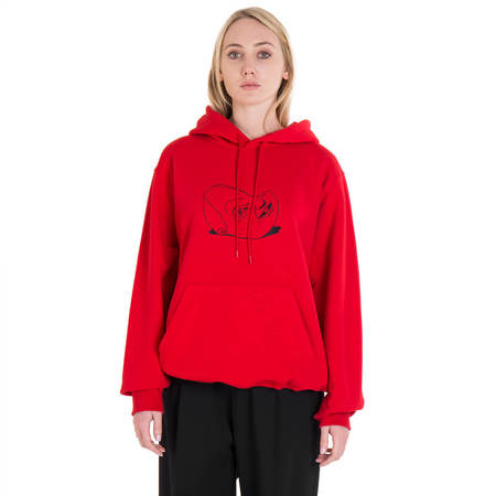 MSGM Dario Argento hoodie - red