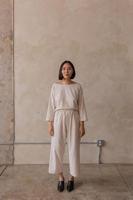Gracemade Rhoda Easy Pant - Ivory