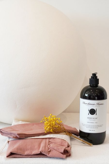 139 project Gift Set E Apron Dishcloth Set & Dish Soap