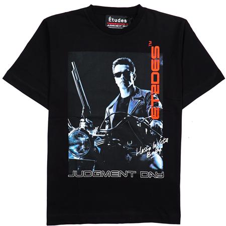 etudes Wonder Hasta La Vista Tshirt - Black