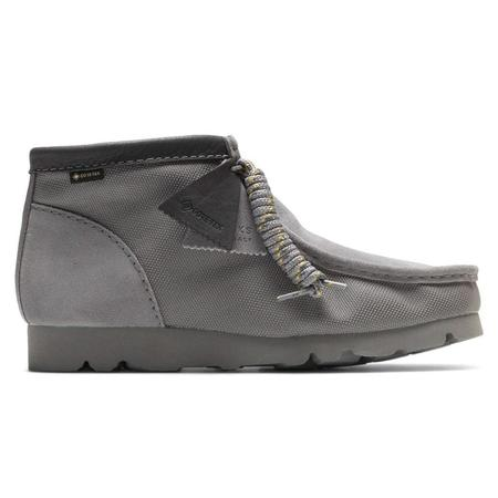 Clarks Wallabee Gore-Tex Boot - Light Grey