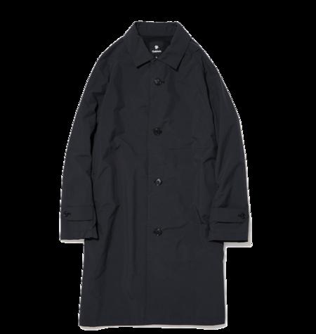 Goldwin Bal Collar Coat - Black