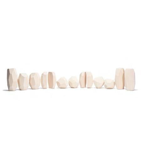 Ocamora Wooden Stones Ice
