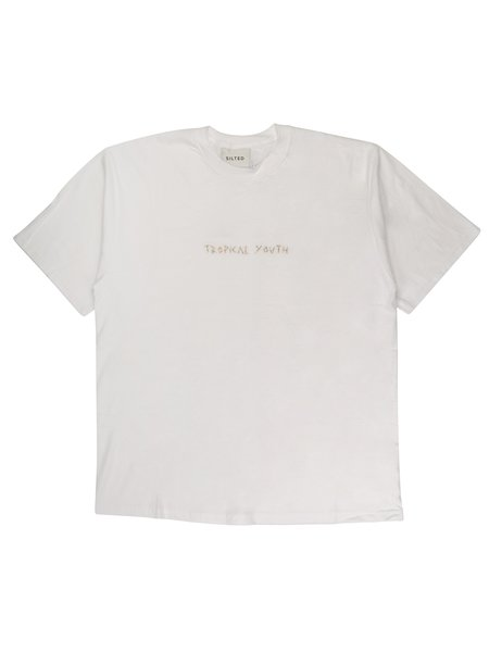 The Silted Company TROPICAL T-SHIRT - White