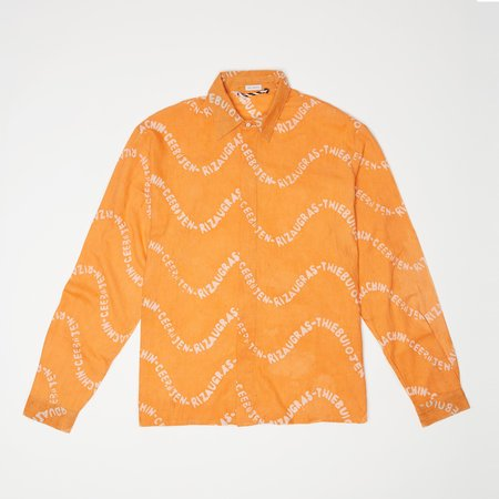 Post-Imperial LAGOS SHIRT - Orange