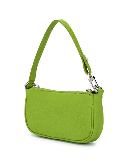 By FAR Mini Rachel Leather Bag - Green
