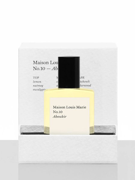 unisex Maison Louis Marie Perfume Oil   No. 10 Aboukir