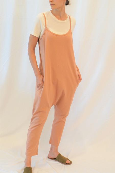 a mente Cotton loose Fit Beggie Jumpsuit - Rose Garden