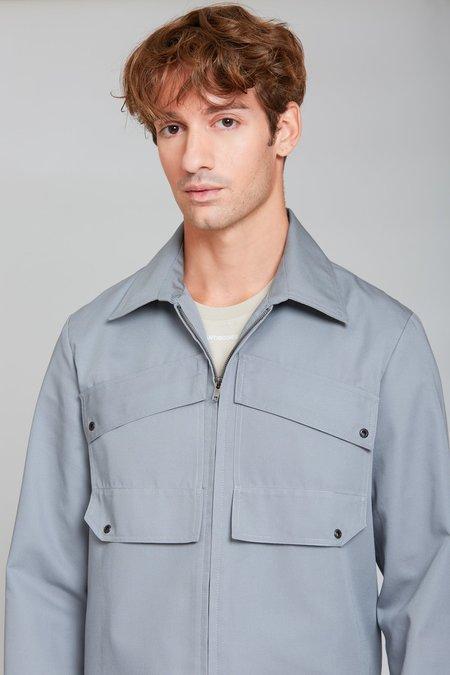 ANT/BODIES Patch Pocket Blouson Jacket - Melange Grey
