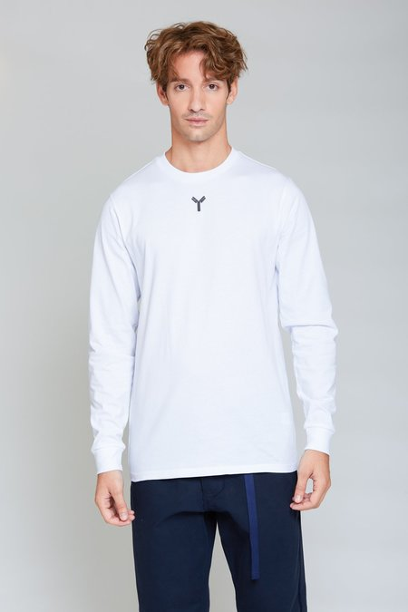 ANT/BODIES Y Embroided Longsleeve - Bright White