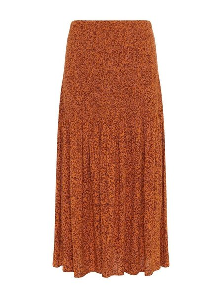 Great Plains Ivy Fleur Skirt - Deep Gold