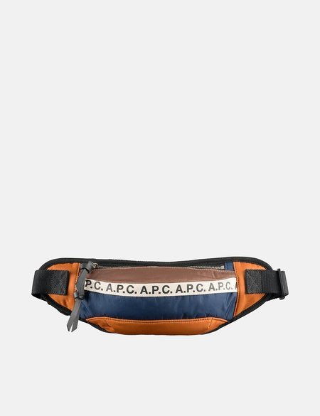 A.P.C. Repeat Bum Bag - Caramel
