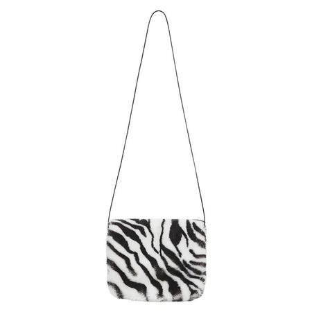 KIDS Bonton Child Mini Purse - Black/White Zebra Print