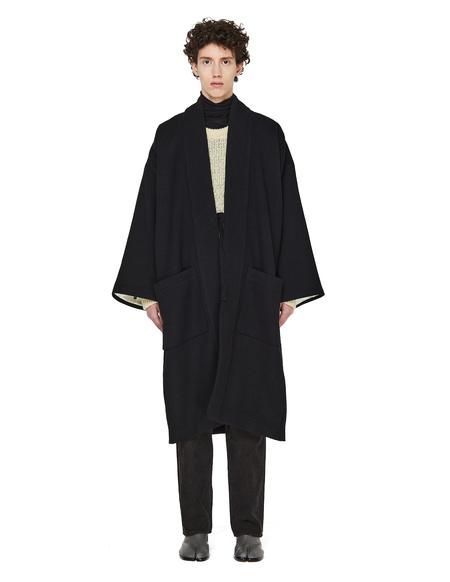 Visvim Wool Kimono - Black