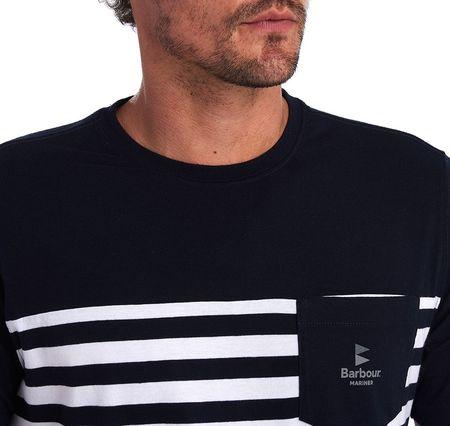 Barbour Ammon Stripe T-shirt - Navy