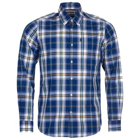 Barbour Highland 4 Tailored Fit Shirt - Navy