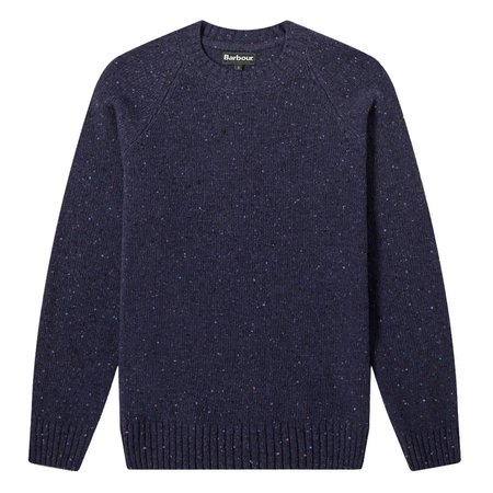 Barbour Netherton Crew Knit Sweater - Navy