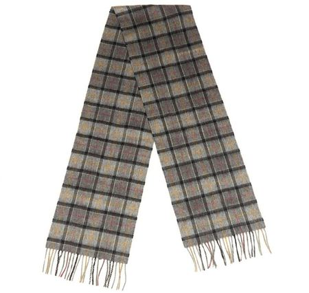 Barbour Modern Wool Scarf And Glove Gift Set - Grey