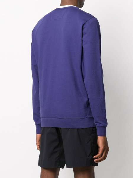 C.P. COMPANY Crew Neck Sweatshirt - Blueprint