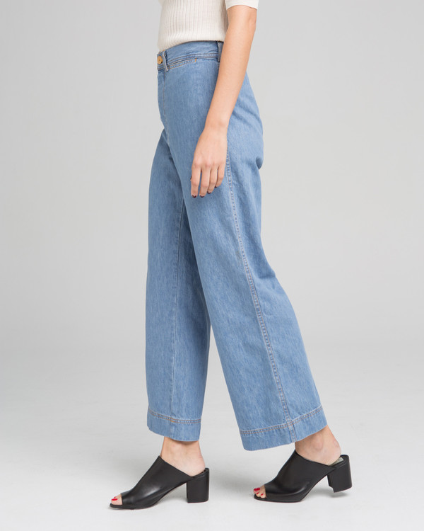 Caron Callahan Stewart pants in denim