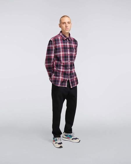 Edwin DON SHIRT Long Sleeve Shirt - Ruby Wine