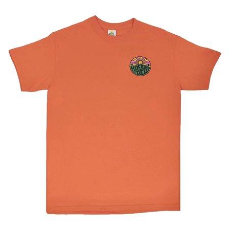 Hikerdelic Original Logo Tee Shirt - Orange