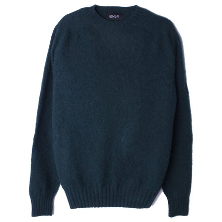 Howlin' BIRTH OF THE COOL Wool Sweater - Forest Green