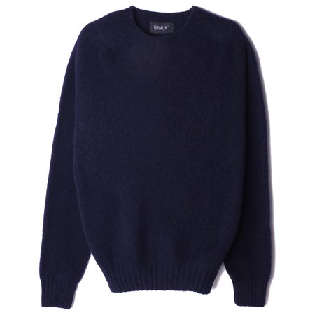 Howlin' BIRTH OF THE COOL Wool Sweater - Navy