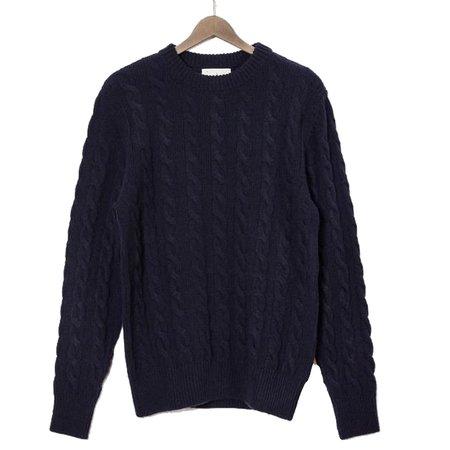 La Paz Fernandes Wool Sweater - Dark Navy