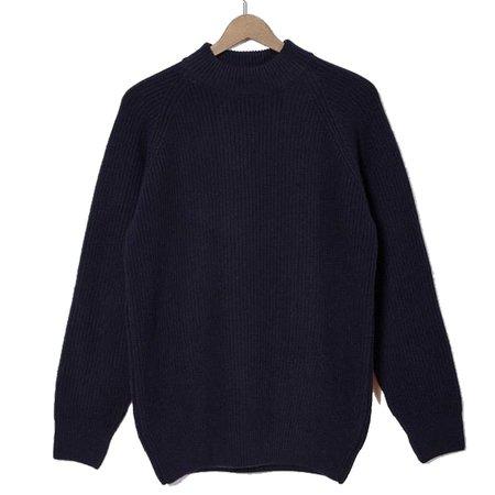 La Paz Prata Wool Sweater - Dark Navy