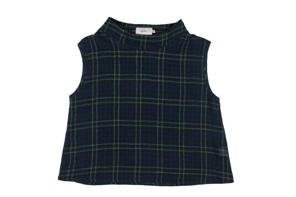 Priory Plaid Kku Top