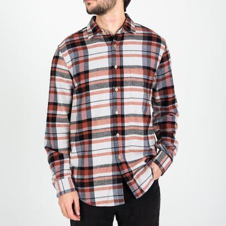 PORTUGUESE FLANNEL Novembro Shirt - Red/black/white