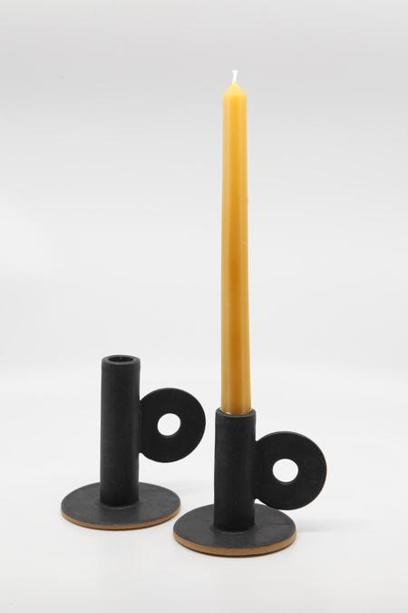 The Great Escape Studio Loop Candle Holder - Black