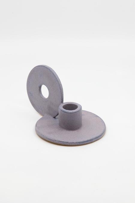 The Great Escape Studio Loop Candle Holder - Purple