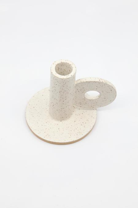 The Great Escape Studio Loop Candle Holder - White
