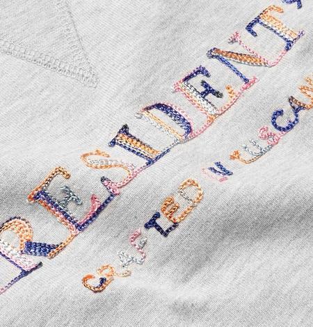 President's Crew Sweater P'S Multicolor Sweat - Rose Grey Melange