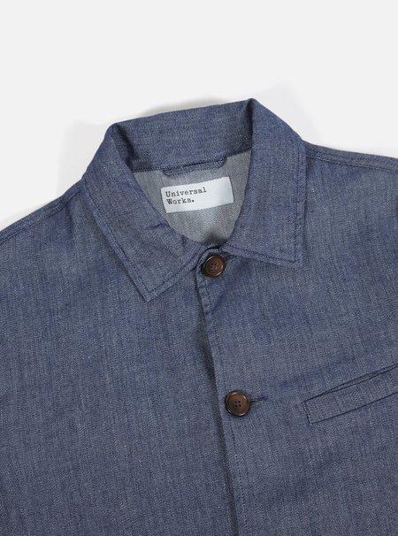 Universal Works Linen Cotton Slub Wamus Jacket - Indigo
