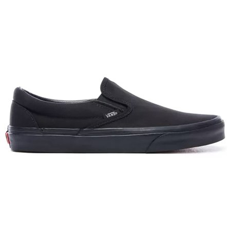 Vans CLASSIC SLIP-ON SHOES - Black/Black