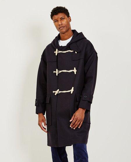 Alex Mill Officer Duffle Coat - Black